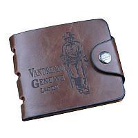 Мужское портмоне Vandream Genuine Leather, кошелек для мужчин Баилини, с доставкой по Украине