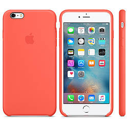 "Чехол для телефона Apple Silicone Case 5|5s|SE ""Apriot""(реплика)"