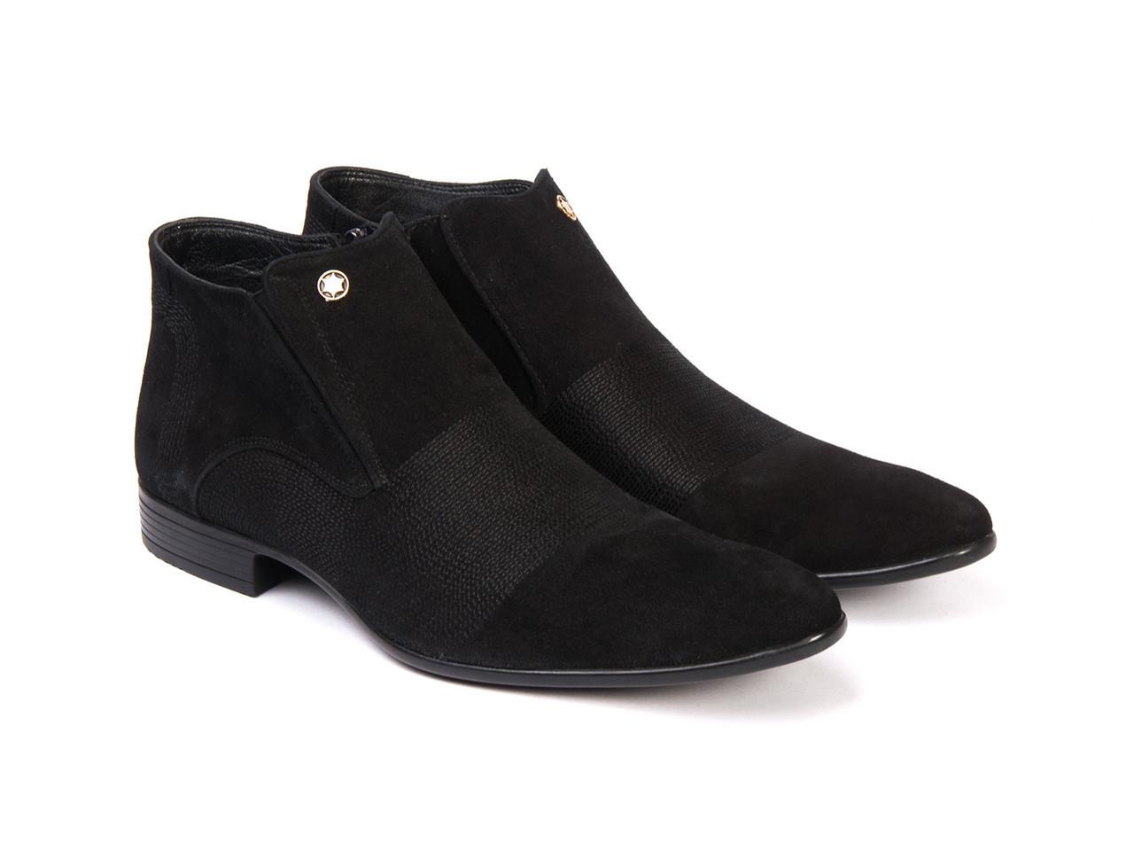 Ботинки Etor 6071-780 45 черные