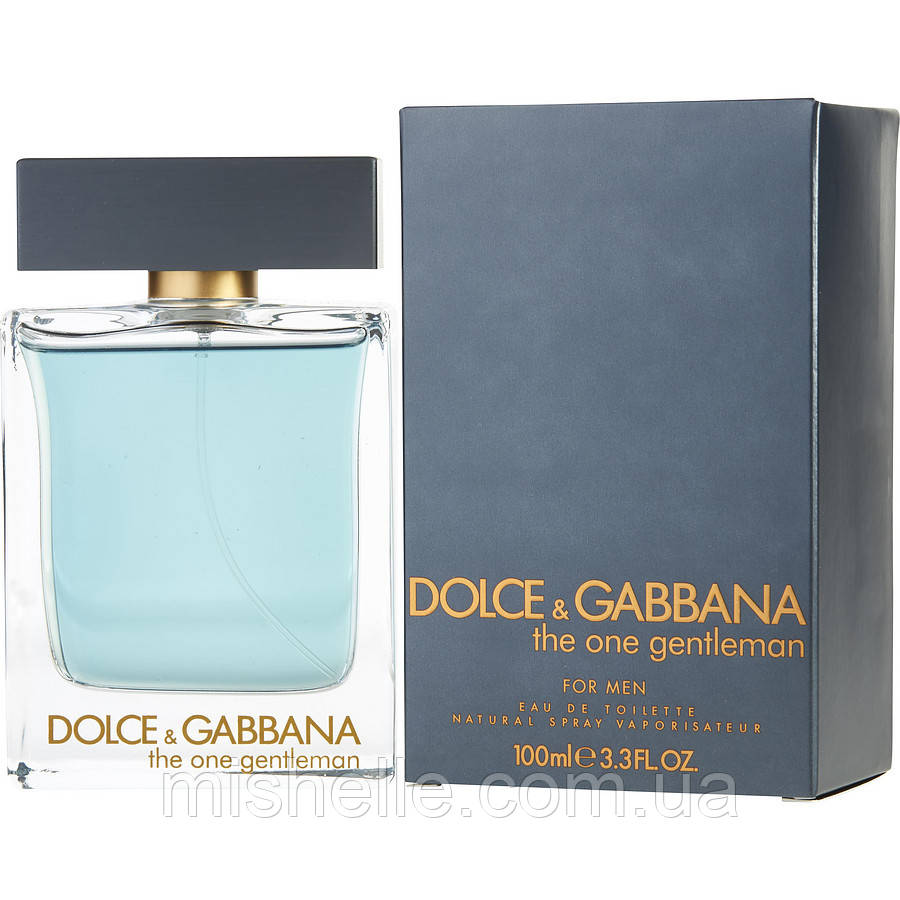 Туалетная вода для мужчин Dolce & Gabbana The One Gentleman (Дольче  Габбана Джентльмен) реплика