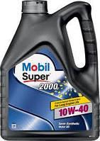 Масло моторное MOBIL SUPER 2000 10W40 4л  mobil 10w-40