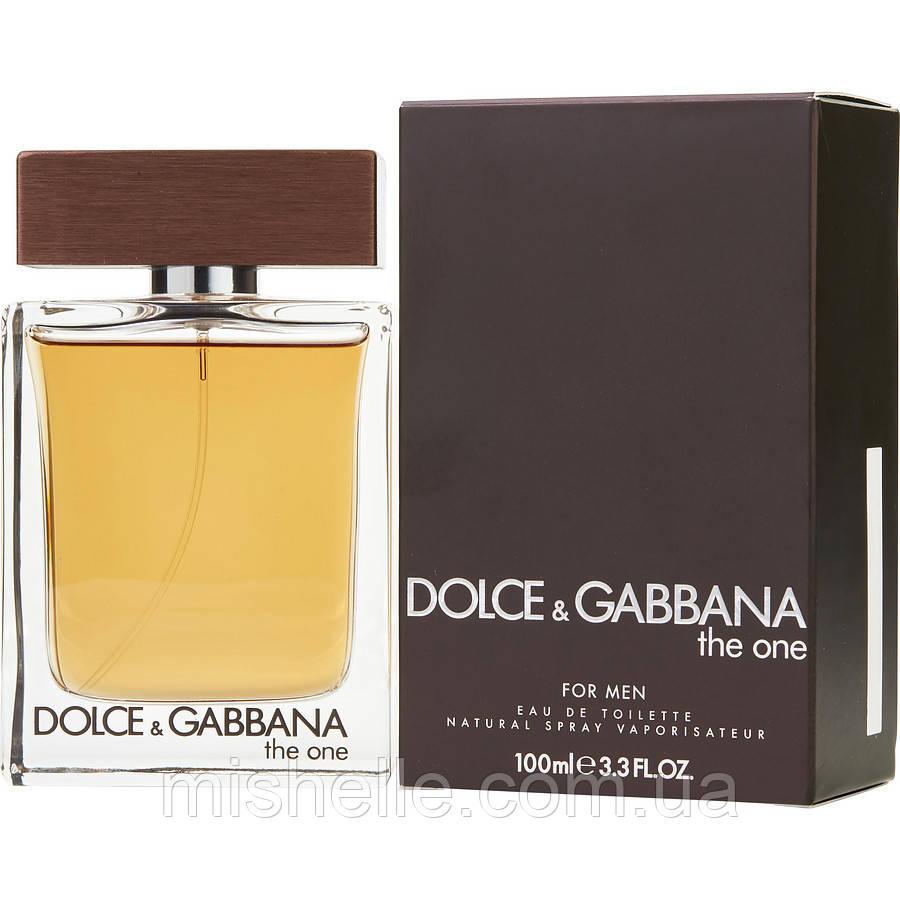 Мужской одеколон Dolce & Gabbana The One Men (Дольче Габбана Зе Ван Мен) реплика