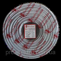 EH-1 Телевизионный кабель RG-6U 32% ССS 1,02 медная фольга 32 медных жилы ПВХ/белый