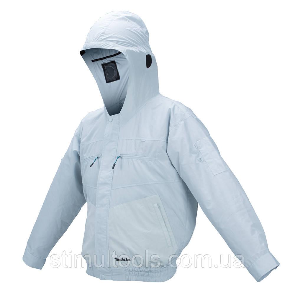 Аккумуляторная куртка с вентиляцией Makita DFJ207ZL