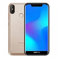 Смартфон ORIGINAL DOOGEE X70 Gold Гарантия 1 год!!!
