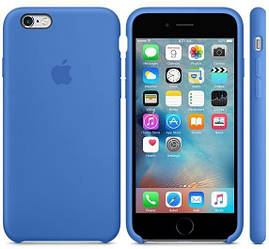 "Чехол для телефона Apple Silicone Case 5|5s|SE ""Royal Blue""(реплика)"