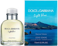 Мужские духи Dolce&Gabbana Light Blue Discover Vulcano Pour Homme (Дольче Габана Лайт Блю Дискавер) реплика, фото 1