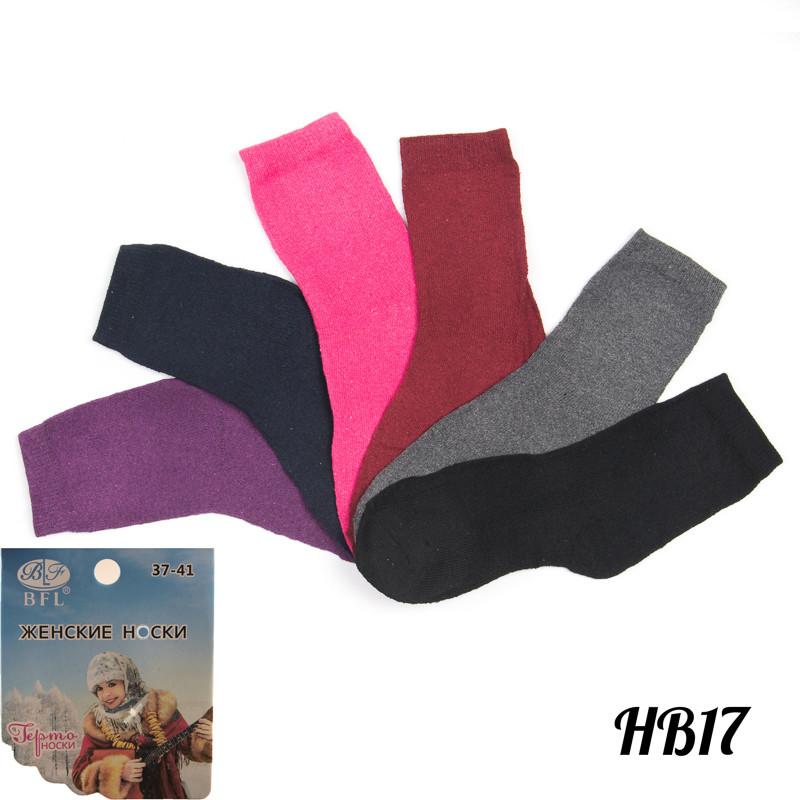 Носки женские махровые с термоэффектом BFL HB17   12 шт.