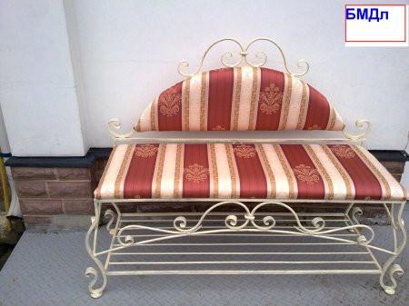 Кованые диванчики БМДл