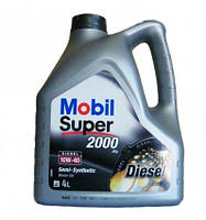 Масло моторное MOBIL SUPER 2000 X 1 DIESEL 10W40 4л