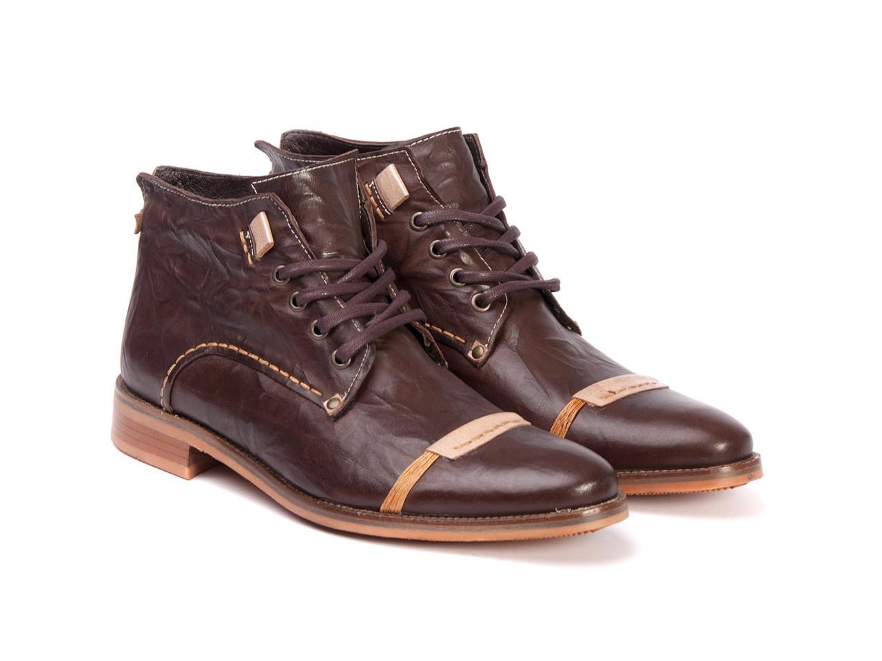 Черевики Etor 4691-5377-03 43 коричневі