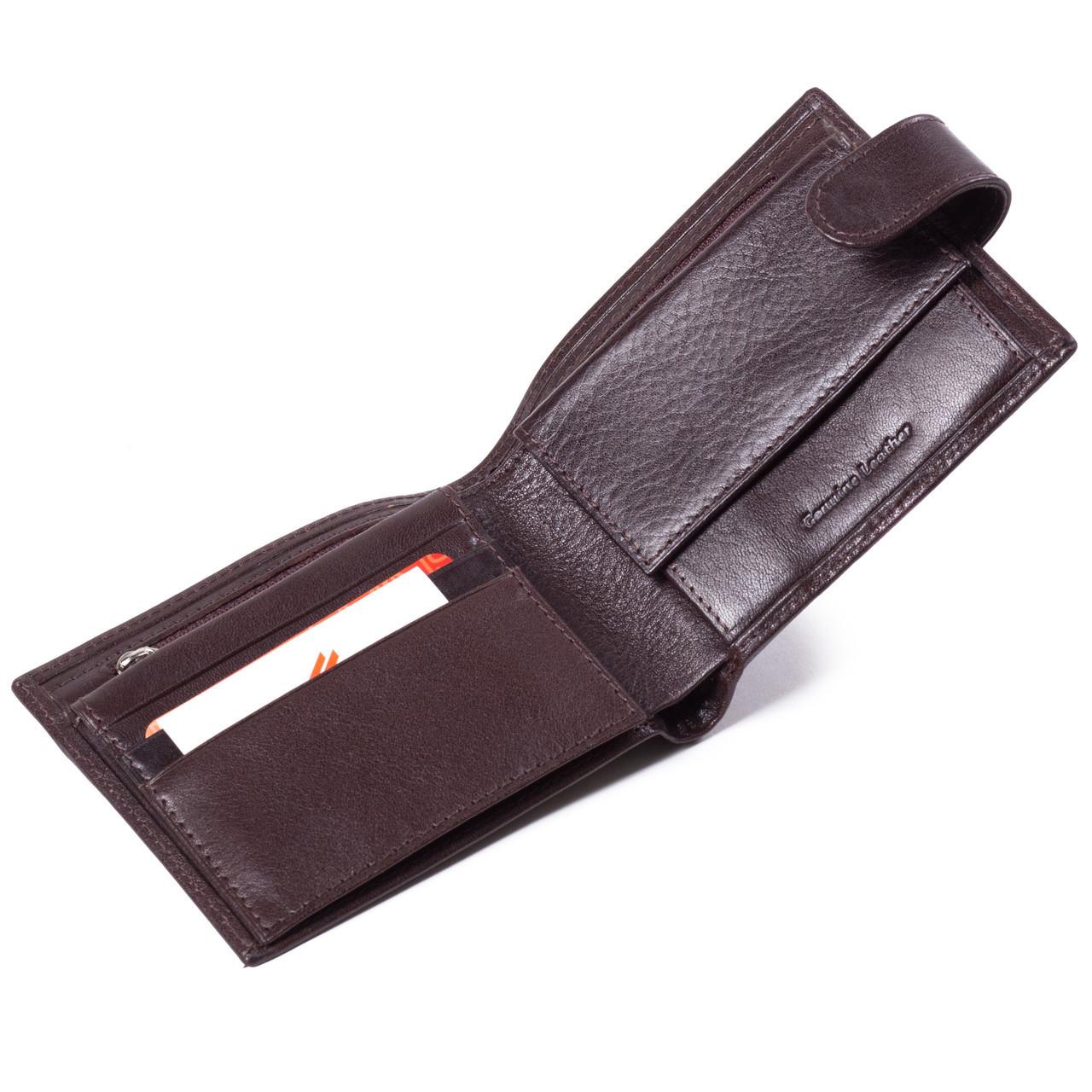 e7fbc44f4e90 Купить сейчас - Мужское портмоне кожаное коричневое Eminsa 1065-18-3 ...