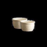 Набор форм порционных Emile Henry 9 см 2 шт кремовых 024009