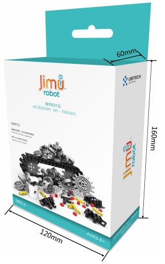 Аксессуарный комплект UBTECH JIMU ROBOT ACCESSORY KIT - TREADS