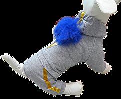 Трикотажный костюм украшен имитацией мороженого рожка