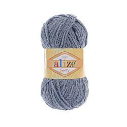 Детская пряжа Софти Softi Alize, № 119, серый