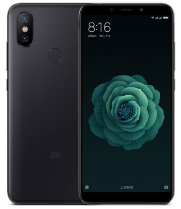 """Смартфон Xiaomi Mi 6X 4/64GB Black, 12+20/20Мп, Snapdragon 660, 2sim, 5.99"""" IPS, 3010mAh, GPS"""