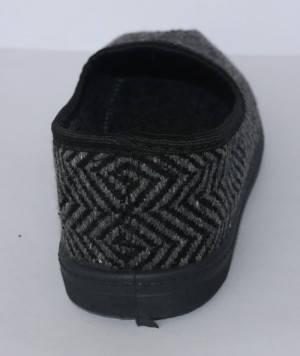 Тапочки комнатные DV мужские Елка черные, серые р-ры 46, фото 2