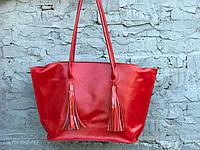 Вместительная женская сумка-шоппер | Кайзер Коралл