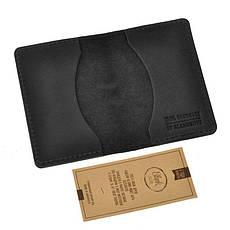 Мужской кожаный кард-кейс 6.0 Карбон черный, фото 3