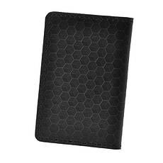 Мужской кожаный кард-кейс 6.0 Карбон черный, фото 2