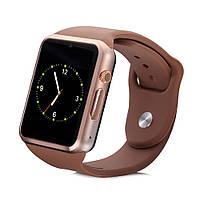 ОРИГИНАЛЬНЫЕ Смарт часы Smart Watch A1, 8 цветов!  Копия Apple Watch Коричневый