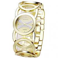 ϞЧасы наручные BAOSAILI KJ089 Gold женские кварцевые с металлическим  браслетом 132e091ce647d
