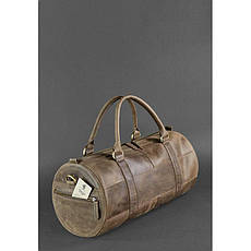 Мужская кожаная сумка Harper темно-коричневая, фото 3