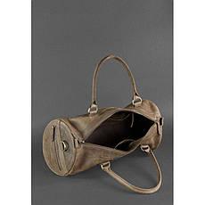 Мужская кожаная сумка Harper темно-коричневая, фото 2