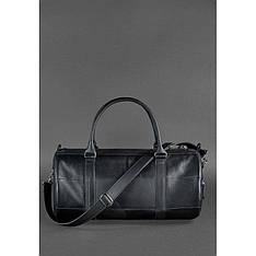 Мужская кожаная сумка Harper черная Krast