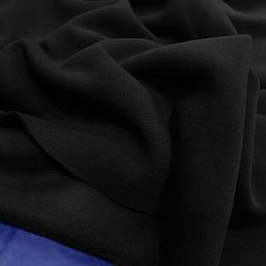 Футер трехнитка с начесом черный