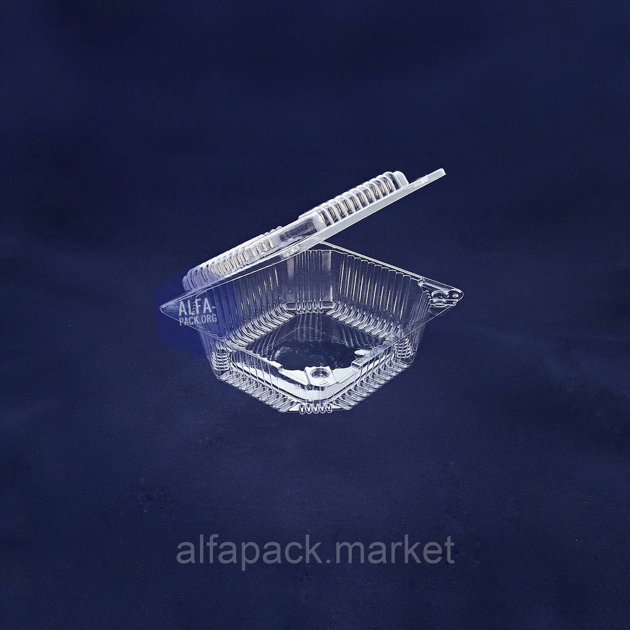 Одноразовая блистерная упаковка ПС-110, 155*150*56