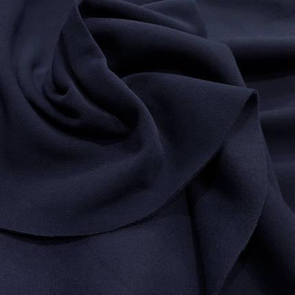Футер трехнитка з начосом темно-синій, фото 2