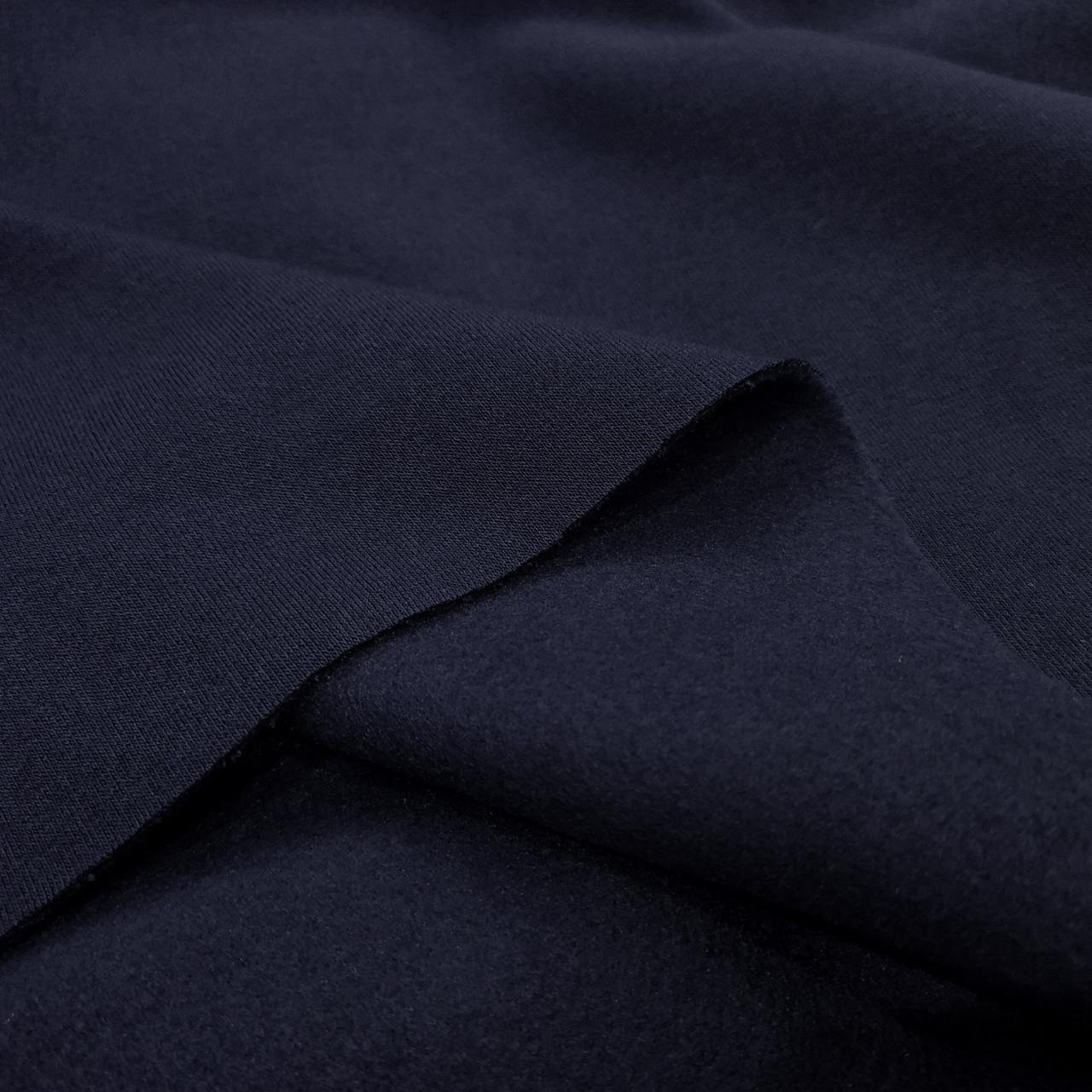 Футер трехнитка з начосом темно-синій