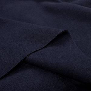 Футер трехнитка с начесом темно-синий