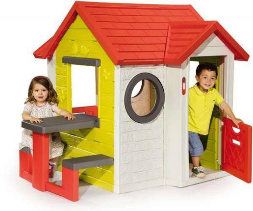 Игровой домик Smoby 810401 со столиком Smoby My House, фото 2