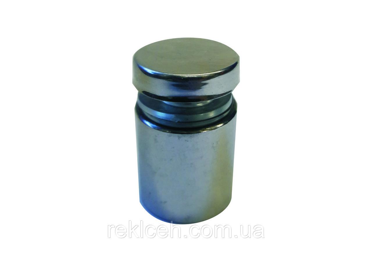 Держатель декоративный металлический хром 19dх20мм