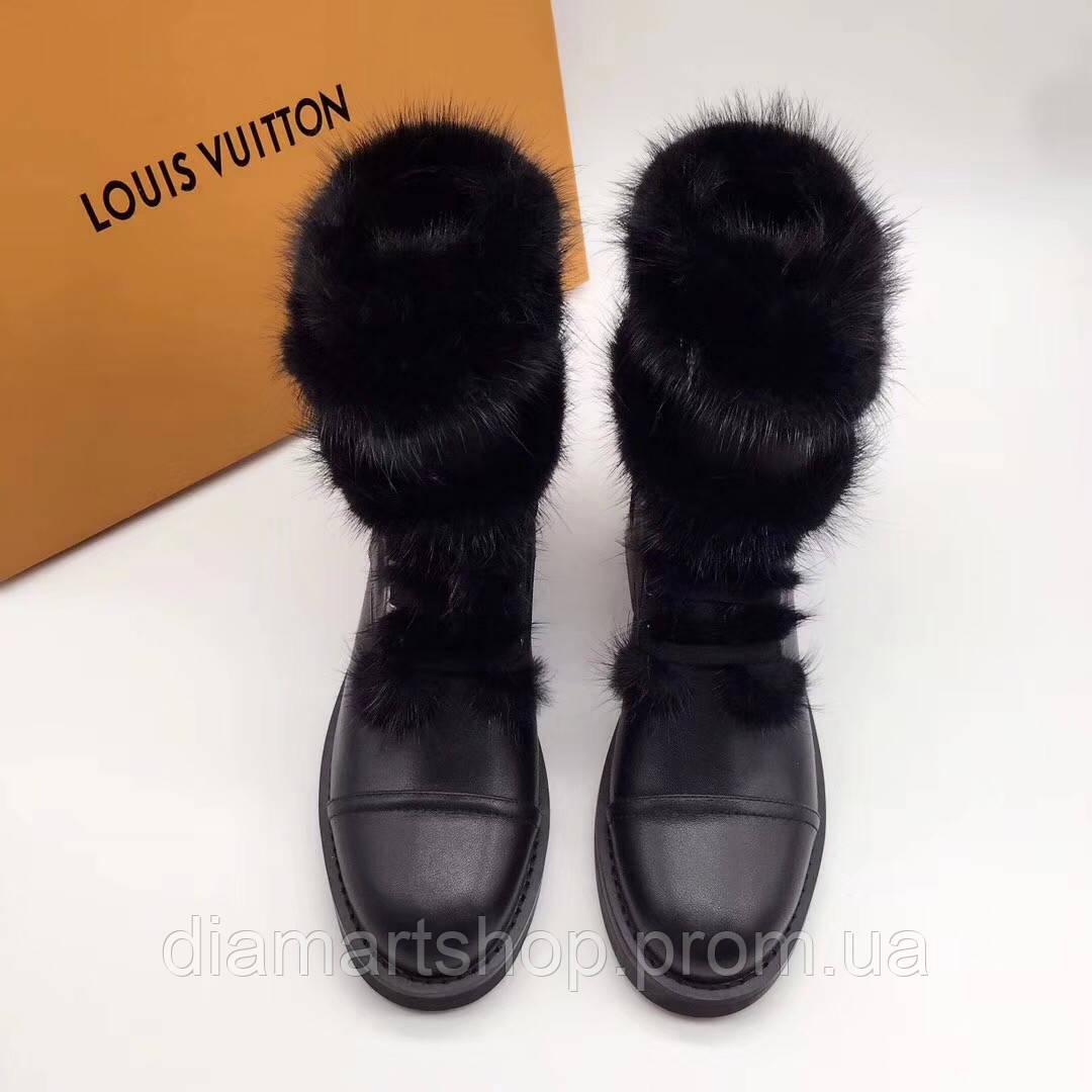 Зимние ботинки Louis Vuitton   продажа, цена в Луцке. ботильоны ... 2cd03355105