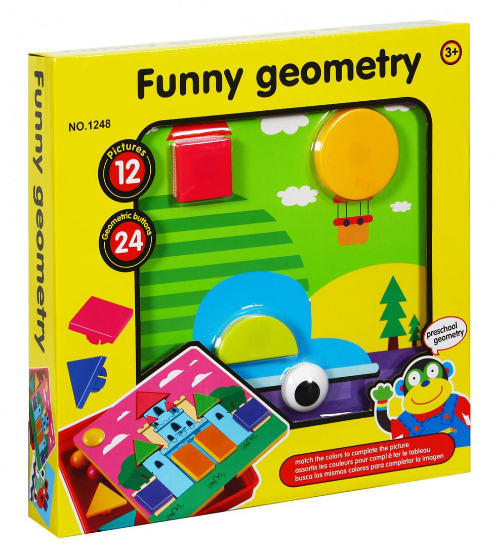 Детская Игра для маленьких Мозаика 1248