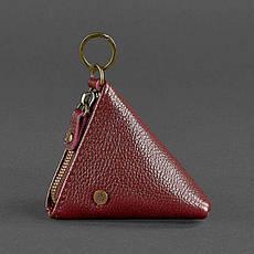 Женская кожаная монетница 2.0 Пирамида Марсала, фото 2