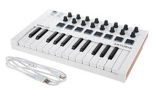 MIDI-клавіатура / Контролер Arturia MiniLab MKII біла