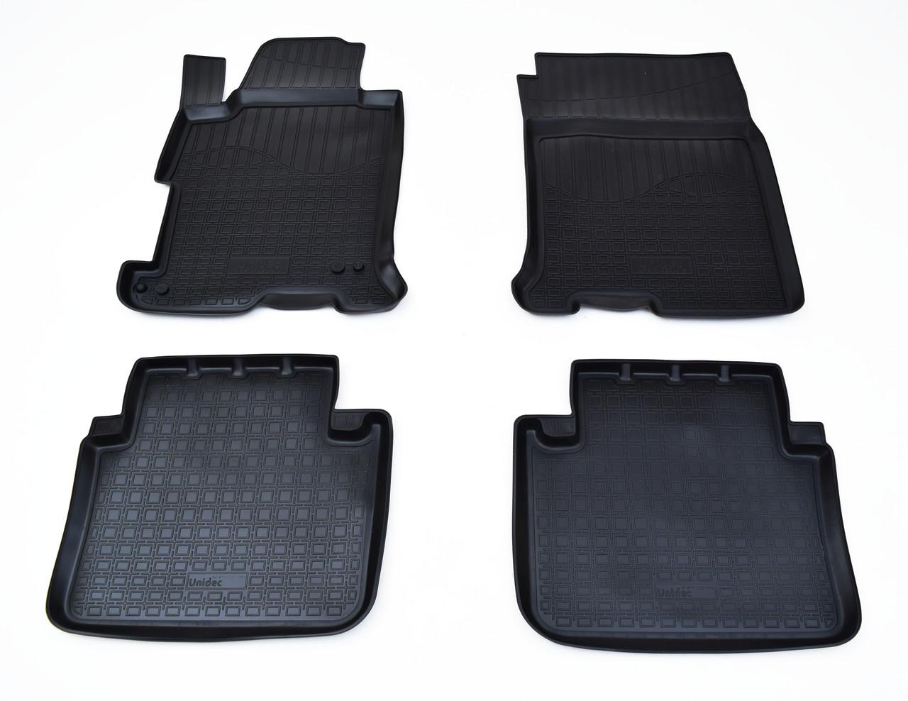 Килимки в салон для Honda Accord IX (13-) (полиур., компл - 4шт) NPA10-C30-010