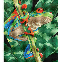 Набор для вышивки гобелен Dimensions 07234 «Красноглазая лягушка»