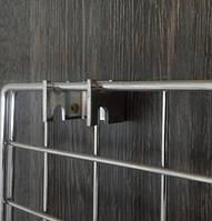 Кріплення хромових сіток до стіни