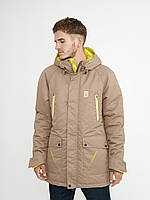 Зимняя мужская куртка парка Node Alaska 2018 navy f46ea5893394b