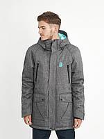 Куртка мужская парка зимняя S1 MEL Urban Planet серая (мужская куртка, куртка чоловіча, зимова куртка)