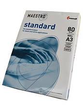 Бумага Maestro Standard А4/80 г/м2, 500 л. Актуальная цена!, фото 2
