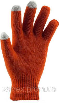 Перчатки для сенсорных телефонов iGlove (оранжевые), фото 2