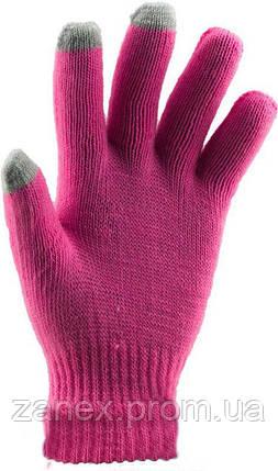 Перчатки для сенсорных телефонов iGlove (розовые), фото 2