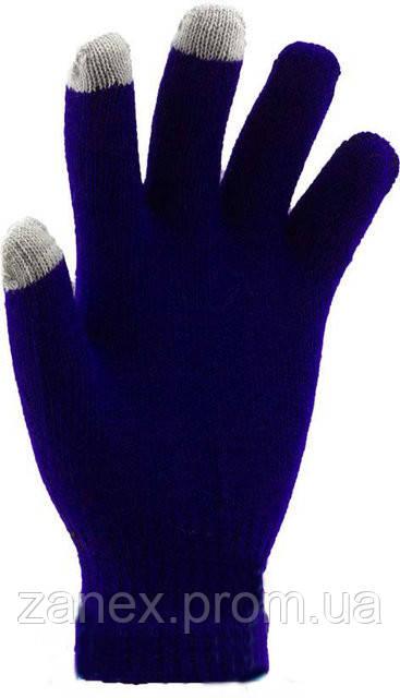 Перчатки для сенсорных телефонов iGlove (фиолетовые)